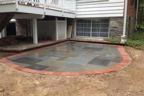 Stone Patio and Walkway