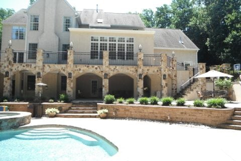 Terrace with Pool Surround, Patio, Walkways